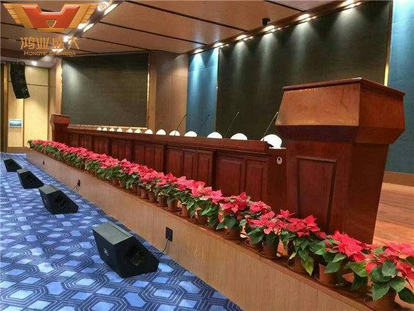 中國—東盟教育交流論壇會址多人會議大廳