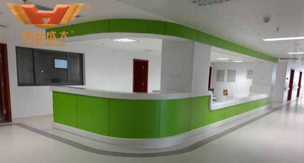 中山市第二人民医院护士站办公家具款式