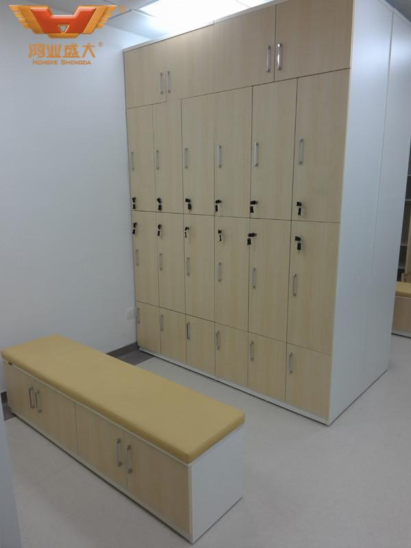 中山市第二人民医院护士更衣室桌椅款式