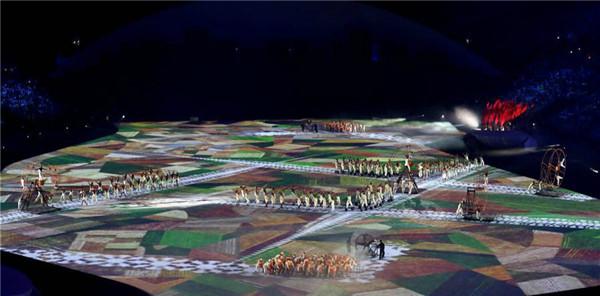 巴西里约奥运会开幕式