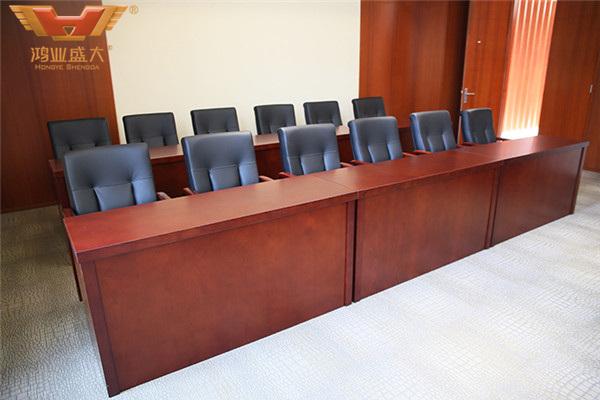 浙江省金華市人民檢察院視像會議廳條桌款式