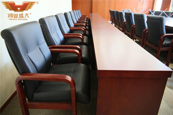 浙江省金华市检察院视像会议厅真皮会议椅款式