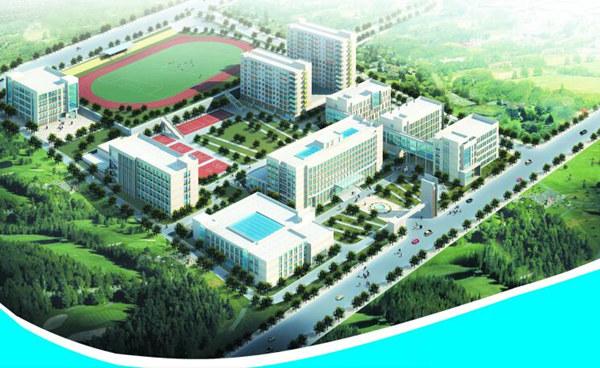 西宁城市职业技术学院全景图