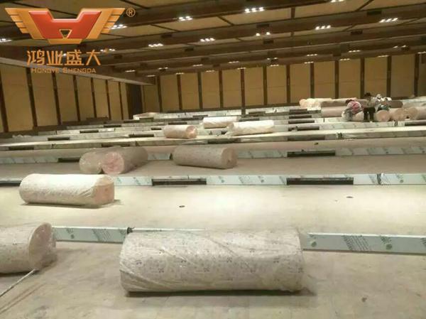 贵州贵阳国际人才公寓酒店现场安装情况