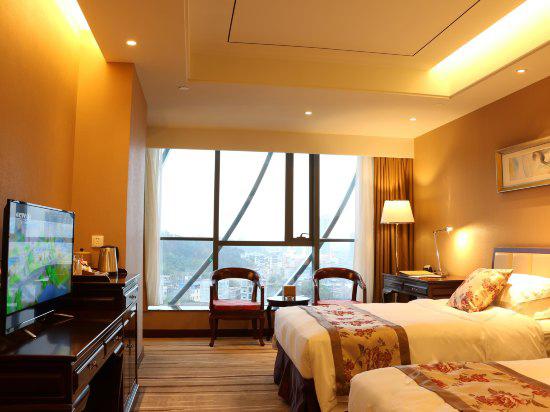 广东希尔顿酒店单人豪华套间配套方案