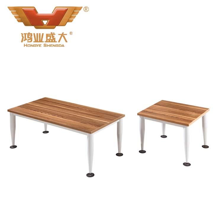 胡桃木办公茶几 hy-ct1201