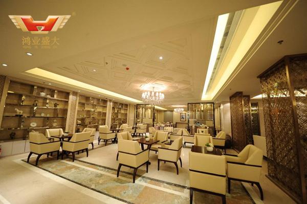 广东希尔顿酒店大厅配套方案