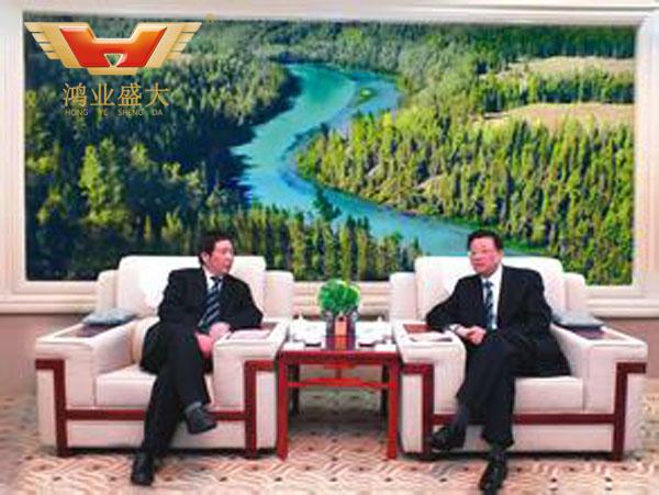 中國建設銀行新疆區分行高級會議室配套方案
