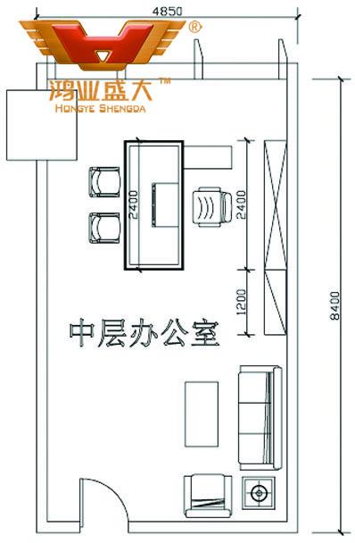 鸿业设计师将根据客户提供尺寸,设计经理18新利体育app室家具CAD平面图
