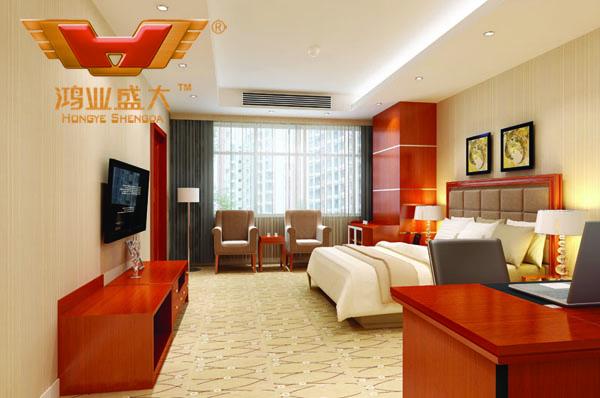 鴻業設計師根據要點1,為客戶設計的3D休息室家具擺放效果圖解決方案