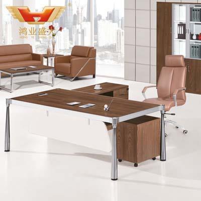 简约时尚主管桌 品牌板式大班台HY-JT09
