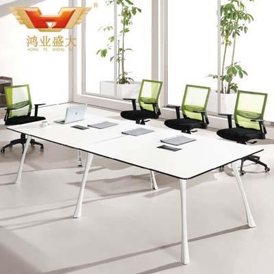 8人中型会议桌 3米现代会议桌HY-H12