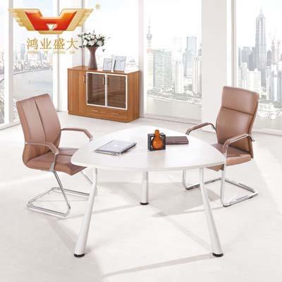 板式现代会议桌 三角洽谈桌HY-TN001