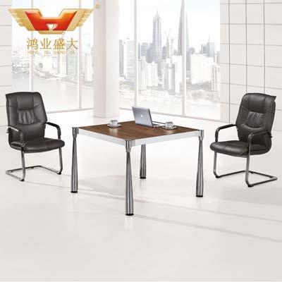 休闲榆木会议桌 板式特色会议桌HY-TS005