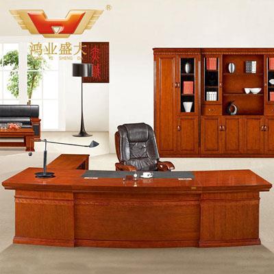 新款老板桌 实木亚博足彩app苹果版桌HY-D1132