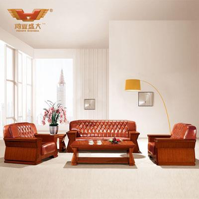 皮质亚博足彩app苹果版沙发 总经理亚博足彩app苹果版室沙发HY-S936