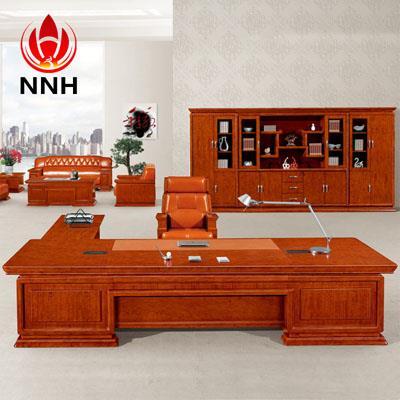 贴皮油漆实木经理桌 书房亚博足彩app苹果版桌NNH-DA11-36