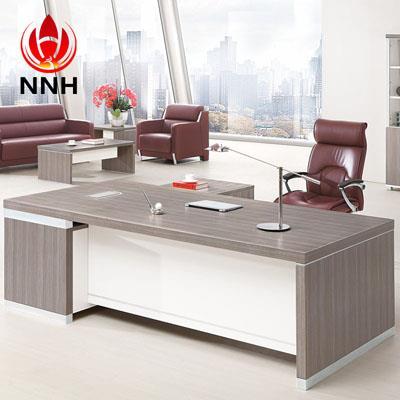 简易板式亚博足彩app苹果版桌椅 老板桌式大班台NNH-JT04