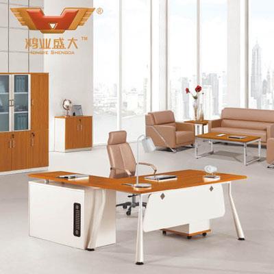 简易板式亚博足彩app苹果版桌椅老板台 大班桌HY-BT12