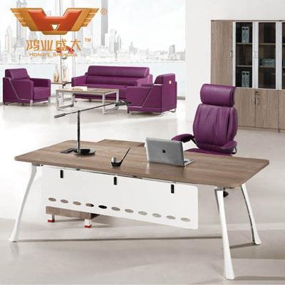 简易大班台 现代板式亚博足彩app苹果版桌椅HY-BT18