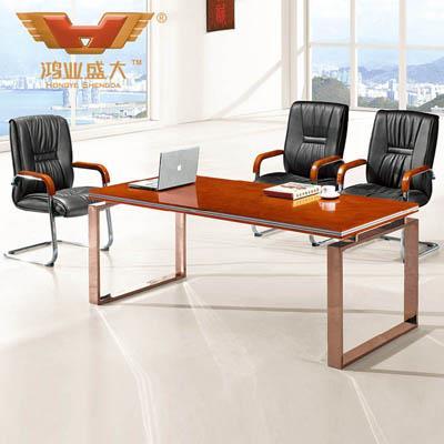 简单小会议桌 时尚洽谈桌HY-A218
