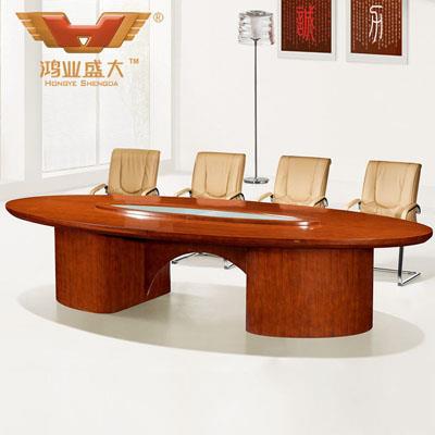 八人会议桌 商务谈判桌椅HY-A6535