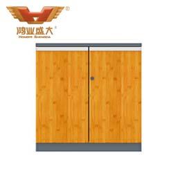 竹木板式文件柜   H60-0601
