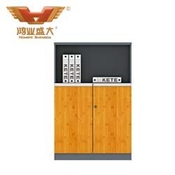 竹木板式文件柜  H60-0602