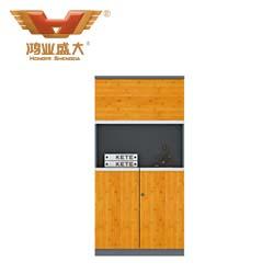 竹木板式文件柜  H60-0603
