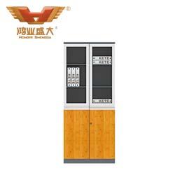 竹木板式文件柜   H60-0614