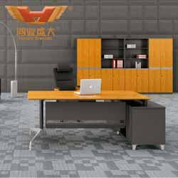 竹木板式黑白直播官网网址桌 H60-0103(直边)