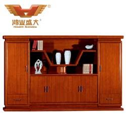 六门泰柚木书柜  HY-C2016