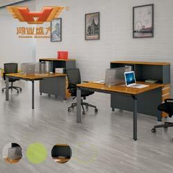 简洁优美职员桌 职员桌订制 H50-0208