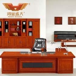 红棕色老板桌 老板桌批发HY-D5232