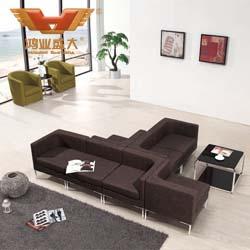 单人位组合沙发 现代单人位组合HY-S028