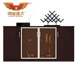 黑橡木茶水柜 现代简约茶水柜H80-0704