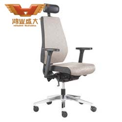 专业生产大班椅 大班椅灰色布HY-1404A
