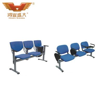 学校课室蓝色排椅