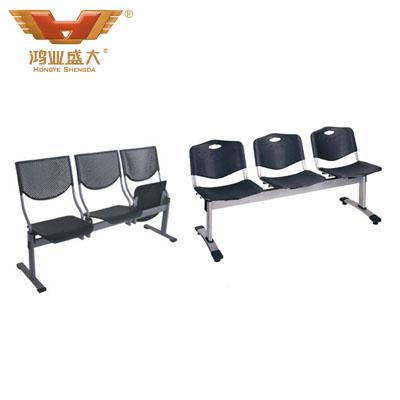 学校课室黑色系排椅