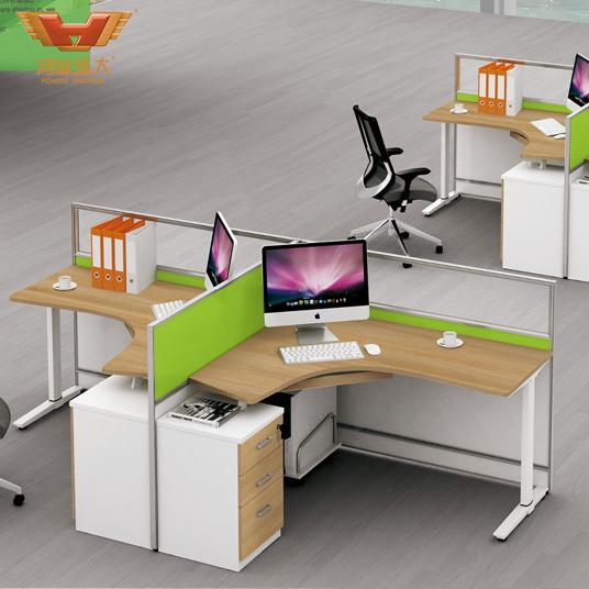 品质职员屏风亚博足彩app苹果版桌  两人位亚博足彩app苹果版桌H15-0804