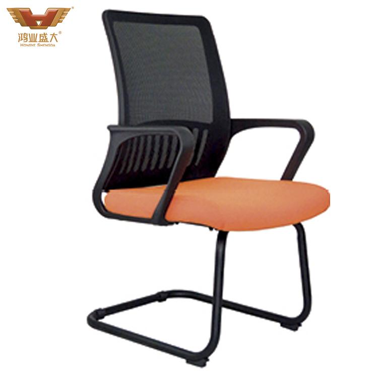 亚博足彩app苹果版椅现代简约弓形会议椅HY-820G