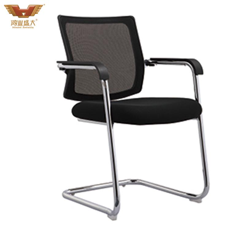 厂家直销网布弓形亚博足彩app苹果版椅会议椅HY-948H
