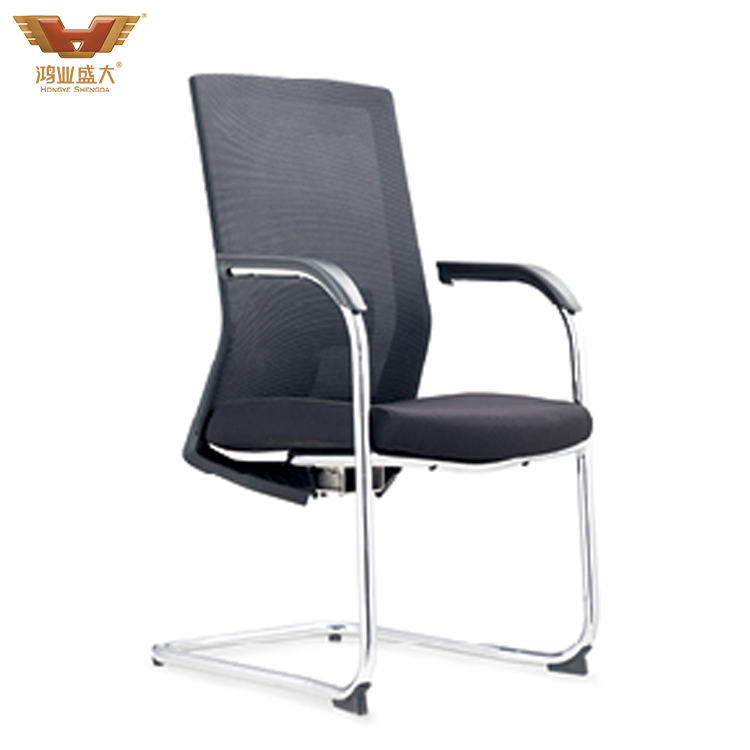 简约黑白直播官网网址椅职员椅会议椅HY-202C